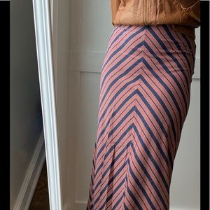 ❤️Sonoma small blue orange maxi skirt